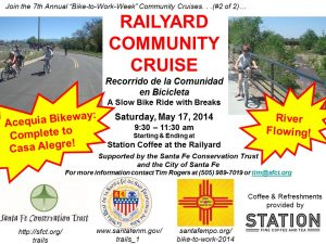 Railyard Community Cruise May 17 2014