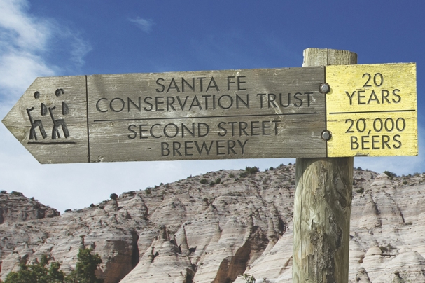 A Helping and Hopping Hand: Second Street Brewery and the Santa Fe Conservation Trust partner for a frothy approach to land preservation