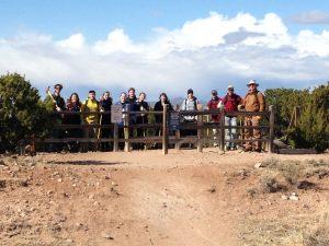 Missouri U. Students work on La Tierra Trails