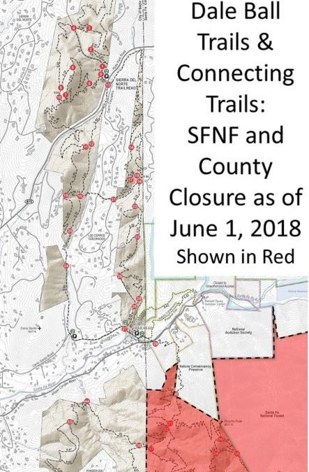 June 1, 2018 Santa Fe Trail Closures