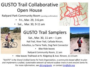 GUSTO Open House and Trail Sampler @ t.b.d.