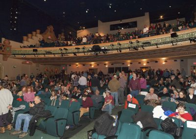Lensic theatre crowd shot