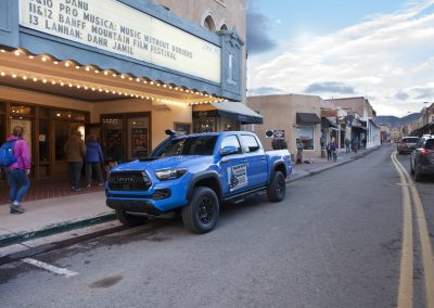 Toyota Blue Truck with Street Included