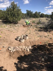 City Trail Work in La Tierra Trails, May and June, 2019