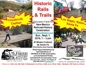 Historic Rails and Trails Discussion Panel @ El Museo Cultural de Santa Fe