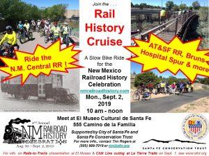 Ride the New Mexico Central Railroad - by Bicycle @ El Museo Cultural de Santa Fe