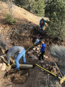 Cañada Ancha Bridge, Sarah Williams Trail, and Other Work in Dale Ball Trails, Mar.-May 2020