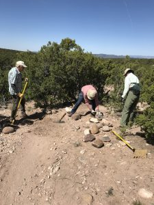 La Tierra Trail Work Days, May and June, 2020