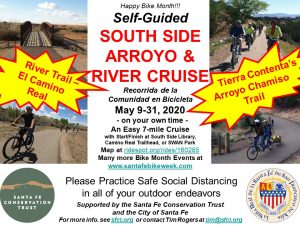 Self-Guided South-Side Arroyo and River Cruise @ Camino Real Trailhead