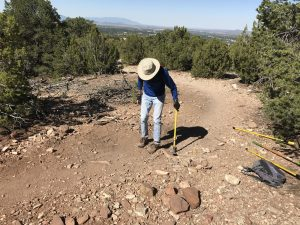 Volunteer Work in Dale Ball Trails, Summer and Fall 2020