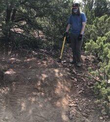 Volunteer Work on Sun Mountain Trail