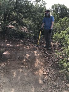 Volunteer Work on Sun Mountain Trail