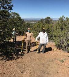 Volunteer Work on Dorothy Stewart Trail and Atalaya Trail, Fall 2020