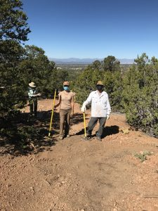 Volunteer Work on Dorothy Stewart Trail and Atalaya Trail, Fall 2020