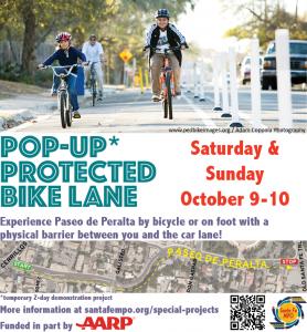 Tour of Downtown Bike Lanes @ Acequia Trail Underpass / Caboose by La Choza